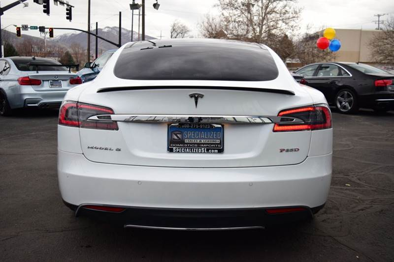 2015 Tesla Model S P85D AWD 4dr Liftback - Salt Lake City UT