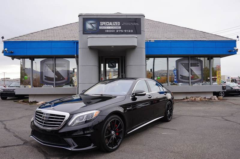 2015 mercedes benz s class s63 amg awd 4matic 4dr sedan in for Mercedes benz utah