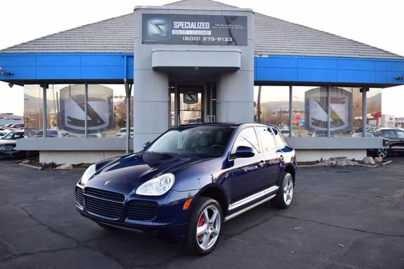 Porsche Cayenne Turbo S AWD Dr SUV In Salt Lake City UT - Porsche cayenne turbo lease