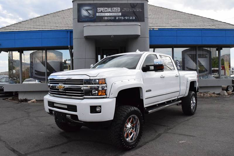 2015 chevrolet silverado 2500hd high country 4x4 4dr crew cab sb in salt lake city ut. Black Bedroom Furniture Sets. Home Design Ideas