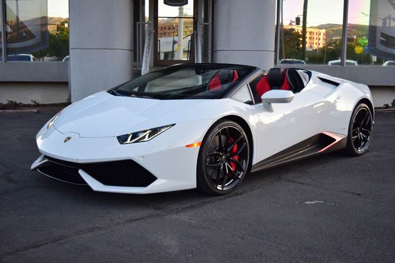 2017 lamborghini huracan lp 610 4 spyder awd 2dr convertible in salt lake city ut specialized. Black Bedroom Furniture Sets. Home Design Ideas