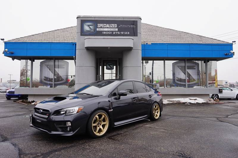 2015 Subaru Wrx STI Limited AWD 4dr Sedan In Salt Lake City UT ...