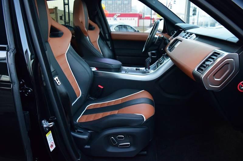 2015 Land Rover Range Rover Sport SVR 4x4 4dr SUV - Salt Lake City UT
