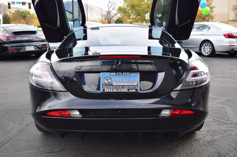2006 Mercedes-Benz SLR SLR McLaren 2dr Coupe - Salt Lake City UT