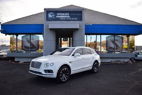 2017 Bentley Bentayga W12 for sale in Salt Lake City, UT