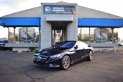 2016 Mercedes-Benz S-Class for sale in Salt Lake City, UT