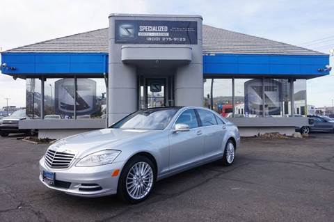 2010 Mercedes-Benz S-Class for sale in Salt Lake City, UT