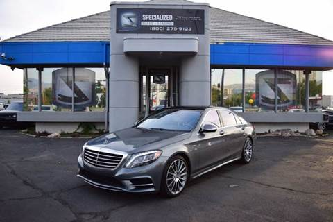 2017 Mercedes-Benz S-Class for sale in Salt Lake City, UT