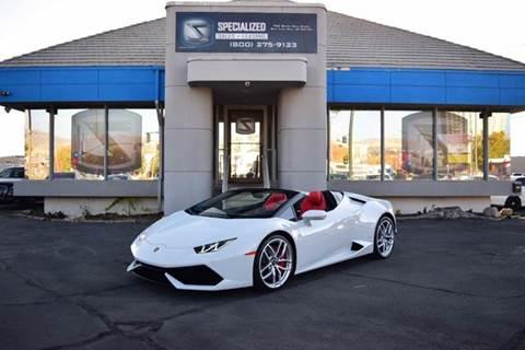 2017 Lamborghini Huracan for sale in Salt Lake City, UT