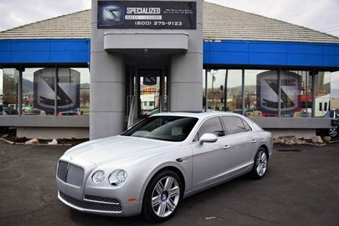 2016 Bentley Flying Spur W12 for sale in Salt Lake City, UT