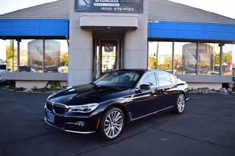 2016 BMW 7 Series for sale in Salt Lake City, UT