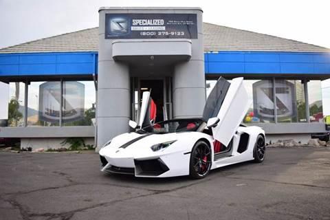 2016 Lamborghini Aventador for sale in Salt Lake City, UT