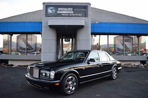 2001 Bentley Arnage for sale in Salt Lake City, UT