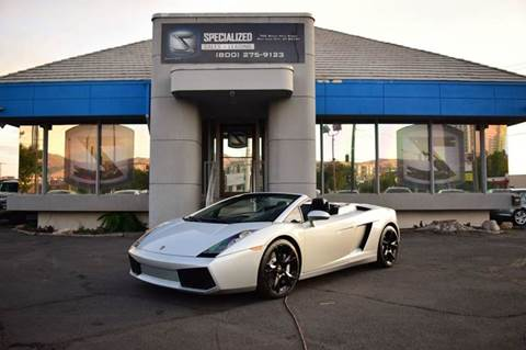 2008 Lamborghini Gallardo for sale in Salt Lake City, UT