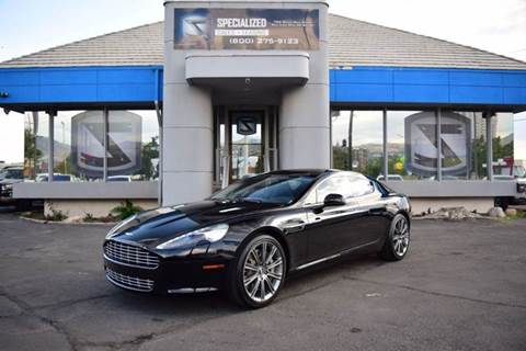 2012 Aston Martin Rapide for sale in Salt Lake City, UT