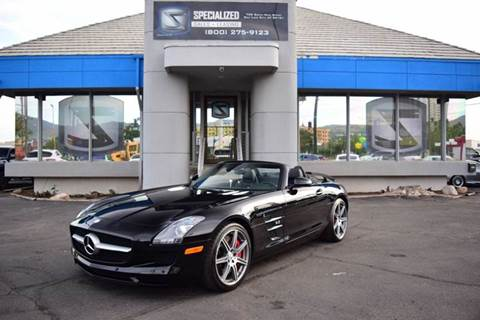 2012 Mercedes-Benz SLS AMG for sale in Salt Lake City, UT