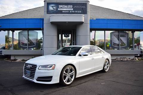 Audi Used Cars Luxury Cars For Sale Salt Lake City Specialized Sales