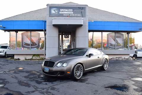 2008 Bentley Continental GT Speed for sale in Salt Lake City, UT
