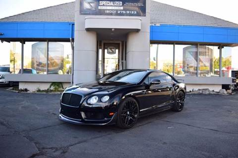 2015 Bentley Continental GT3-R for sale in Salt Lake City, UT