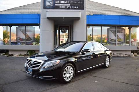 2015 Mercedes-Benz S-Class for sale in Salt Lake City, UT