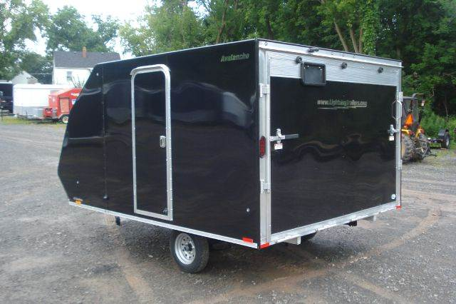 2015 Lightning Aluminum Crossover Snowmobile Trailer