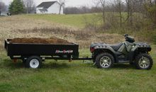 2013 Extreme Road & Trail 4x7 Ft  ATV/ Dump Trailer  - Holley NY