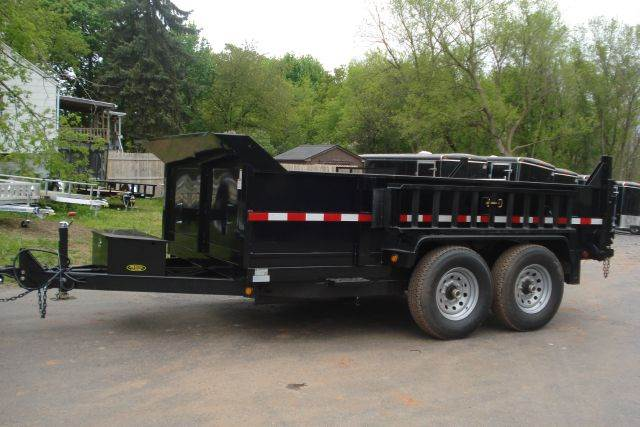 2014 Griffin 12 ft Dump Trailer, 12K