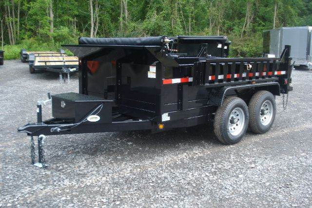 2014 Griffin 10ft Dump Trailer, 10K