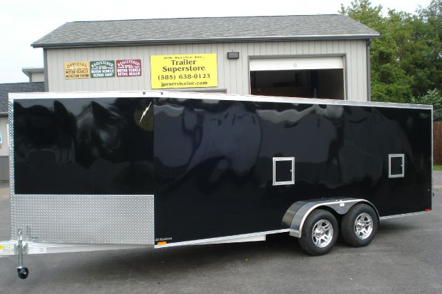 2014 Lightning Aluminum 23 Ft Enclosed Snowmobile Trailer, 3 Place