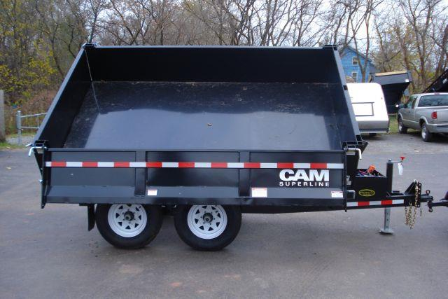 2014 Cam Superline 6x10 3-Way Deckover Dump Trailer, 10K  - Holley NY