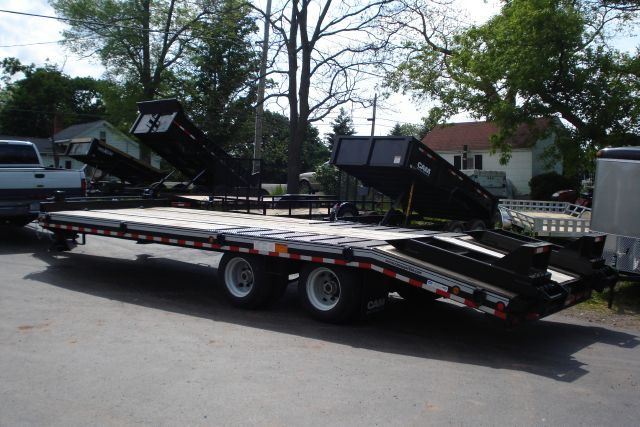 2012 Cam Superline 25' Heavy Duty Deckover Trailer-20 Ton