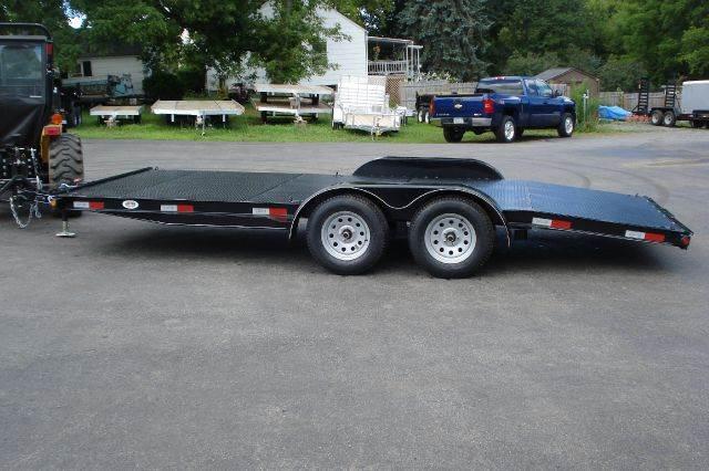 2014 Quality Trailer of Ohio 18' Open Diamond Deck Car Hauler