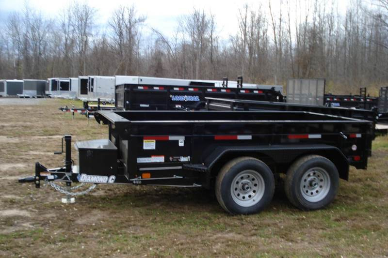 2016 Diamond C 5X10 Dump Trailer