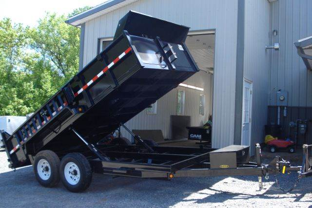 2014 Griffin 14 ft Dump Trailer, 14K