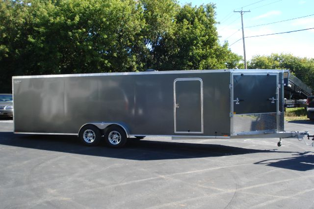 2014 Lightning Aluminum 29 Ft Enclosed Snowmobile Trailer, 4 Place