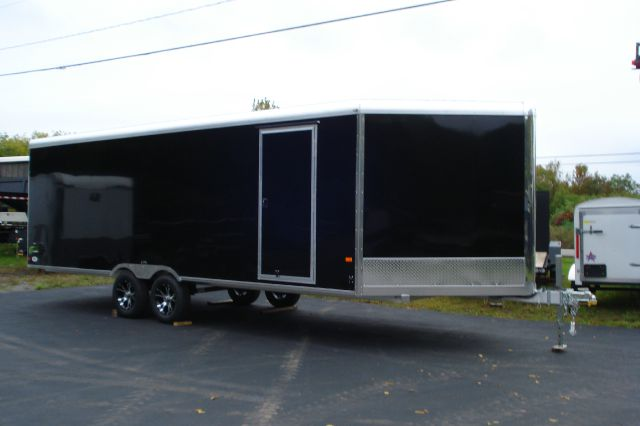 2014 Neo 26 Ft Enclosed Aluminum Snowmobile Trailer
