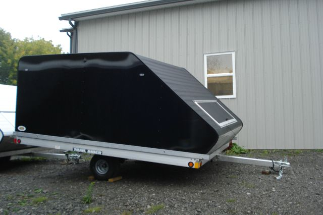 2014 Rance Aluminum 10ft Clamshell Snowmobile Trailer