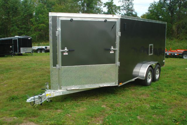 2014 Amera-lite 23 ft Aluminum Enclosed Snowmobile Trailer