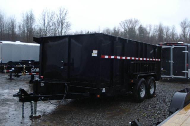 2015 Griffin  14 ft High Side Dump Trailer,