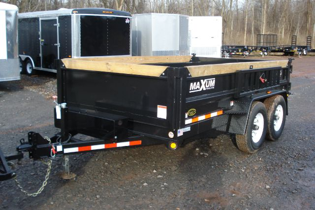 2014 Maxum 7x12 Heavy Duty Dump Trailer, Low Profile, 12K