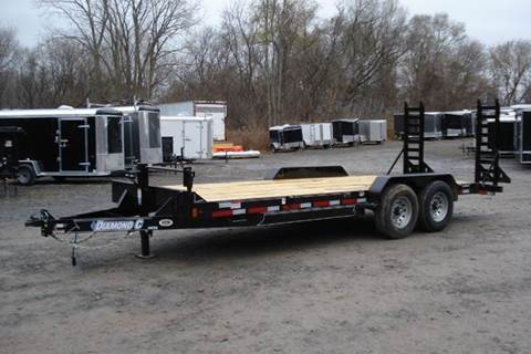 2016 Diamond C 20 Foot Equipment trailer