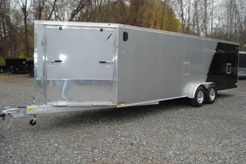 2016 Lightning 29 ft Enclosed Snowmobile Trai