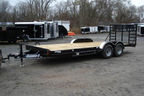 2016 Diamond C Equipment Trailer