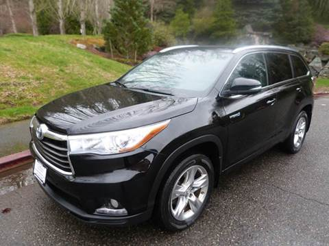 2014 Toyota Highlander Hybrid for sale in Kirkland, WA
