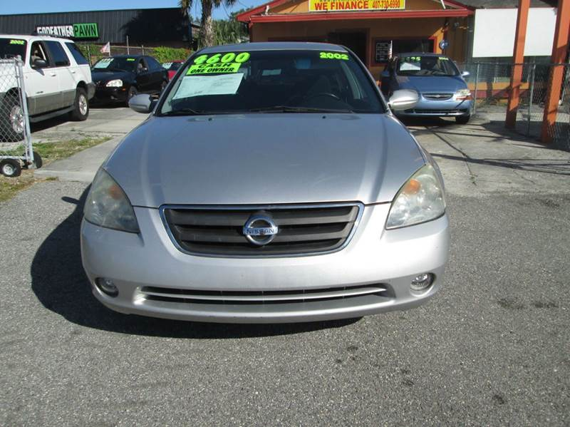 2002 nissan altima 3 5 se 4dr sedan in orlando fl. Black Bedroom Furniture Sets. Home Design Ideas