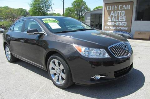 2013 buick lacrosse for sale tennessee. Black Bedroom Furniture Sets. Home Design Ideas