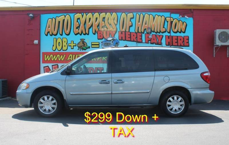 2006 Chrysler Town and Country Touring 4dr Extended Mini-Van - Hamilton OH