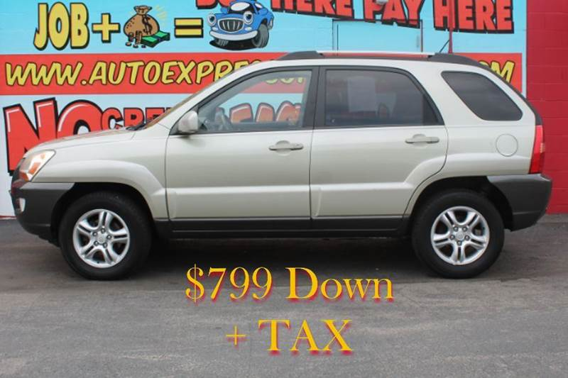 2005 kia sportage ex v6 2wd in hamilton oh auto express. Black Bedroom Furniture Sets. Home Design Ideas