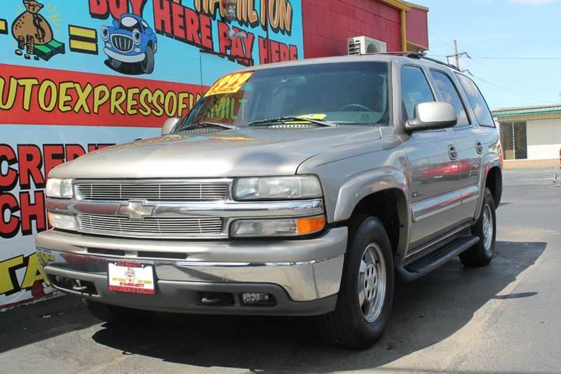 2002 Chevrolet Tahoe 4dr 4WD SUV - Hamilton OH
