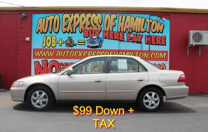 2000 Honda Accord SE 4dr Sedan - Hamilton OH